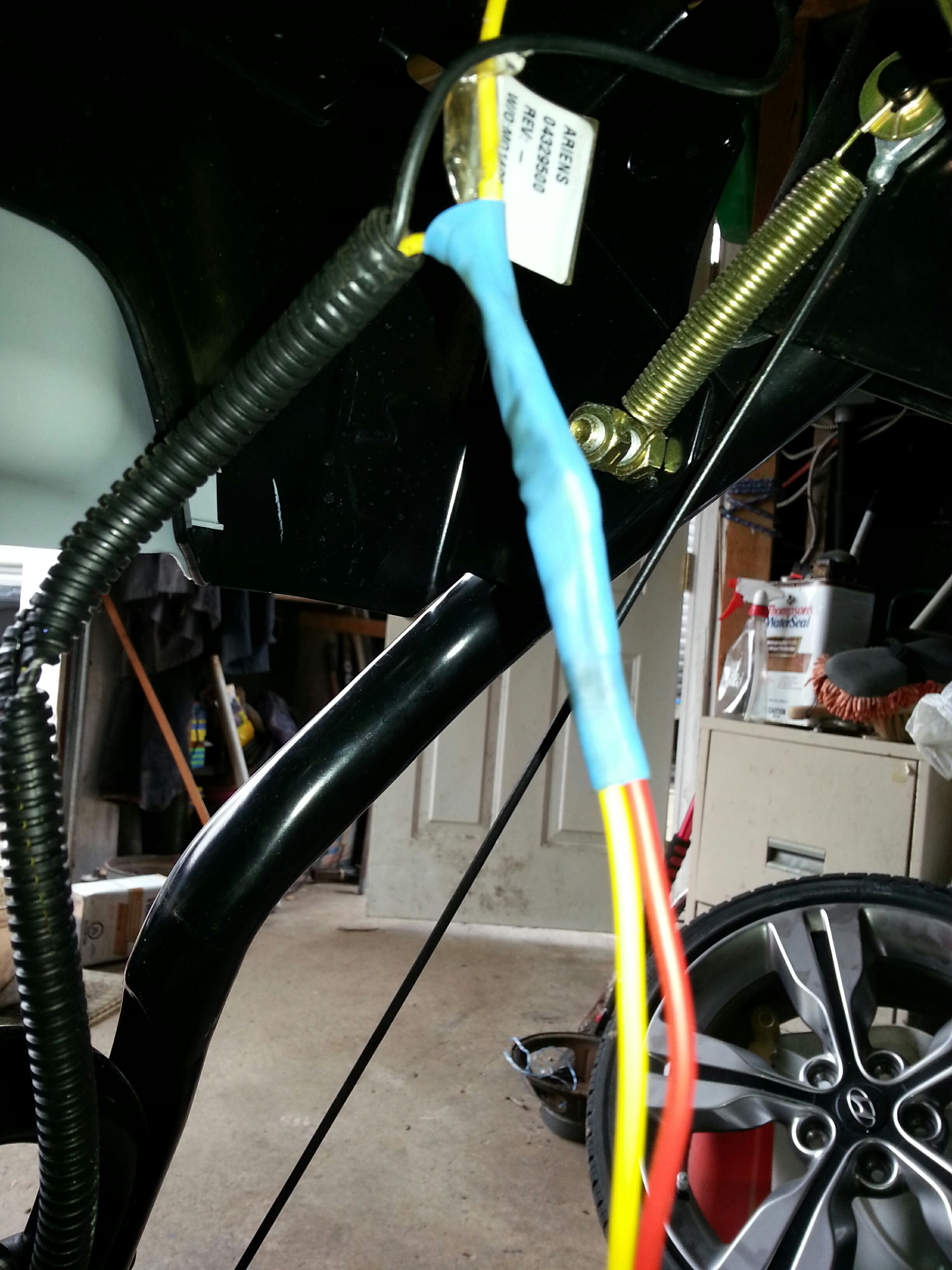Picture of Step Three: Soldering Connections and Shrinking the Tubing