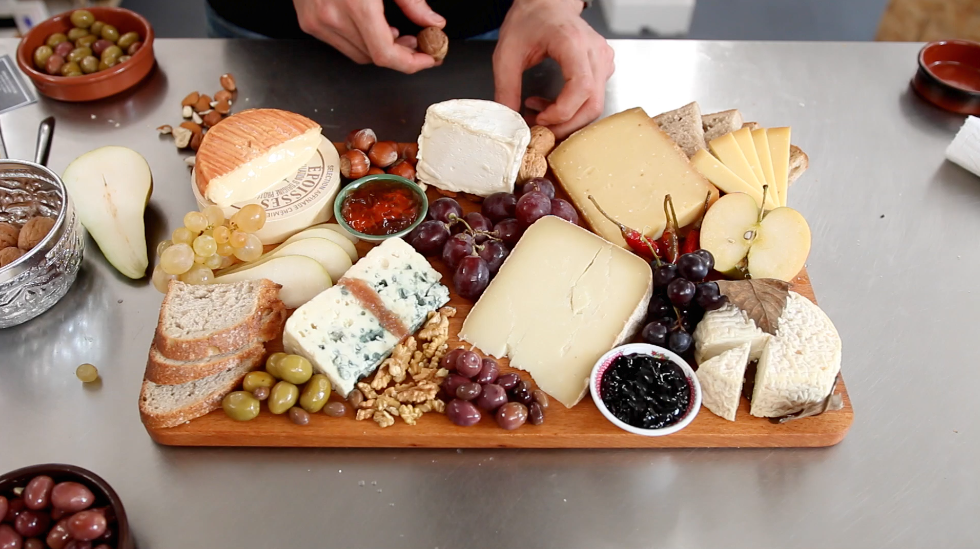 Picture of Put Together a Beautiful CHEESE BOARD