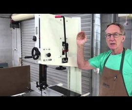 How to Adjust the Blade of the Bandsaw
