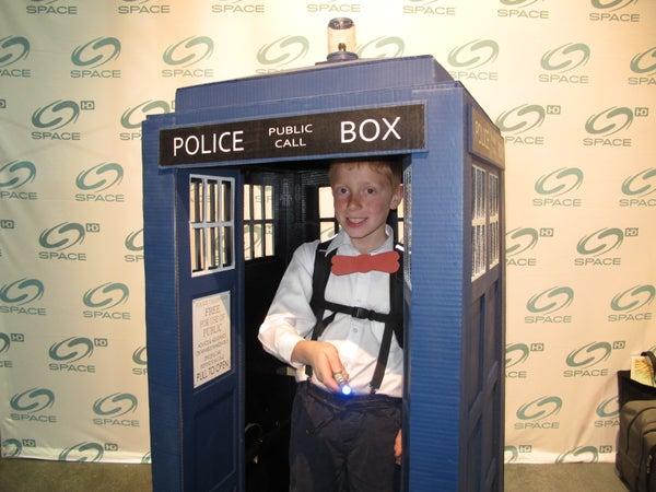 Doctor Who Tardis Costume