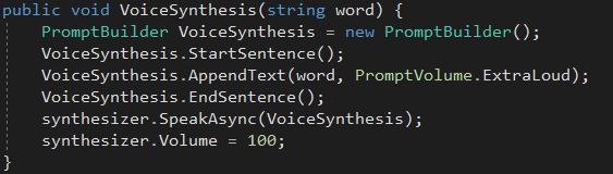 Picture of Voice Synthesis