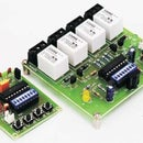 Wireless Radio Frequency Module Using PIC Microcontroller.