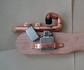 Steam Powered Potato Pistol Zippo(tm) Mod
