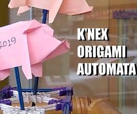 K'nex Origami Automata