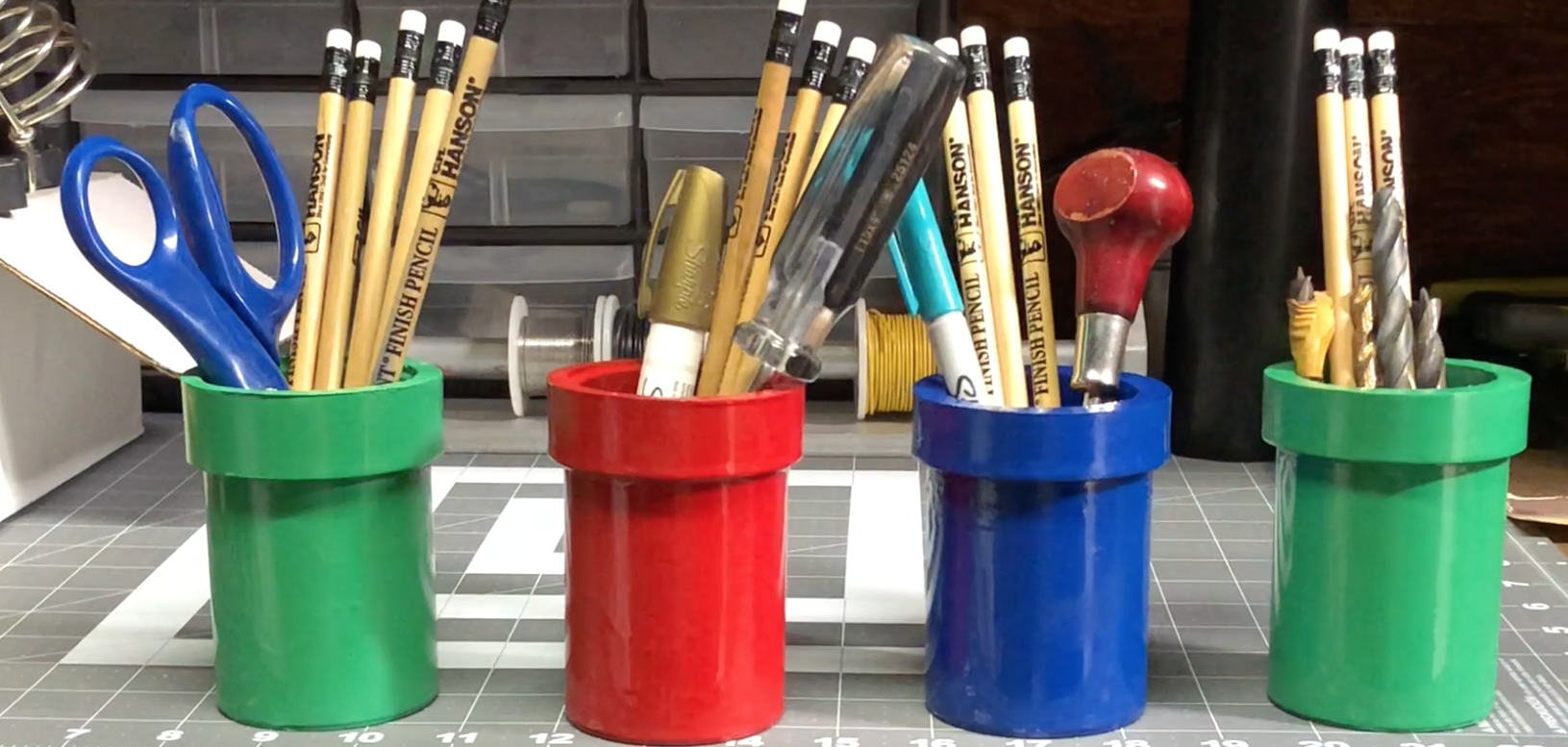 Picture of Enjoy Your New Pencil Holder!