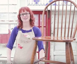 The Easiest Way to Paint Chair Spindles