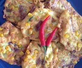 Corn Fritters (Bakwan Jagung)