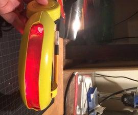 Cyclops Optic Visor Cheap and Easy DIY Prop Tutorial