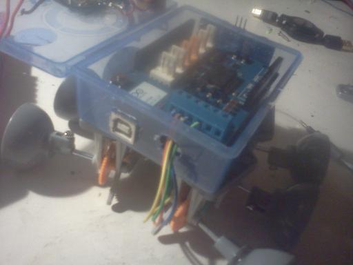 Picture of Arduino Motorshield