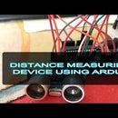 Distance Measuring Device Using Arduino