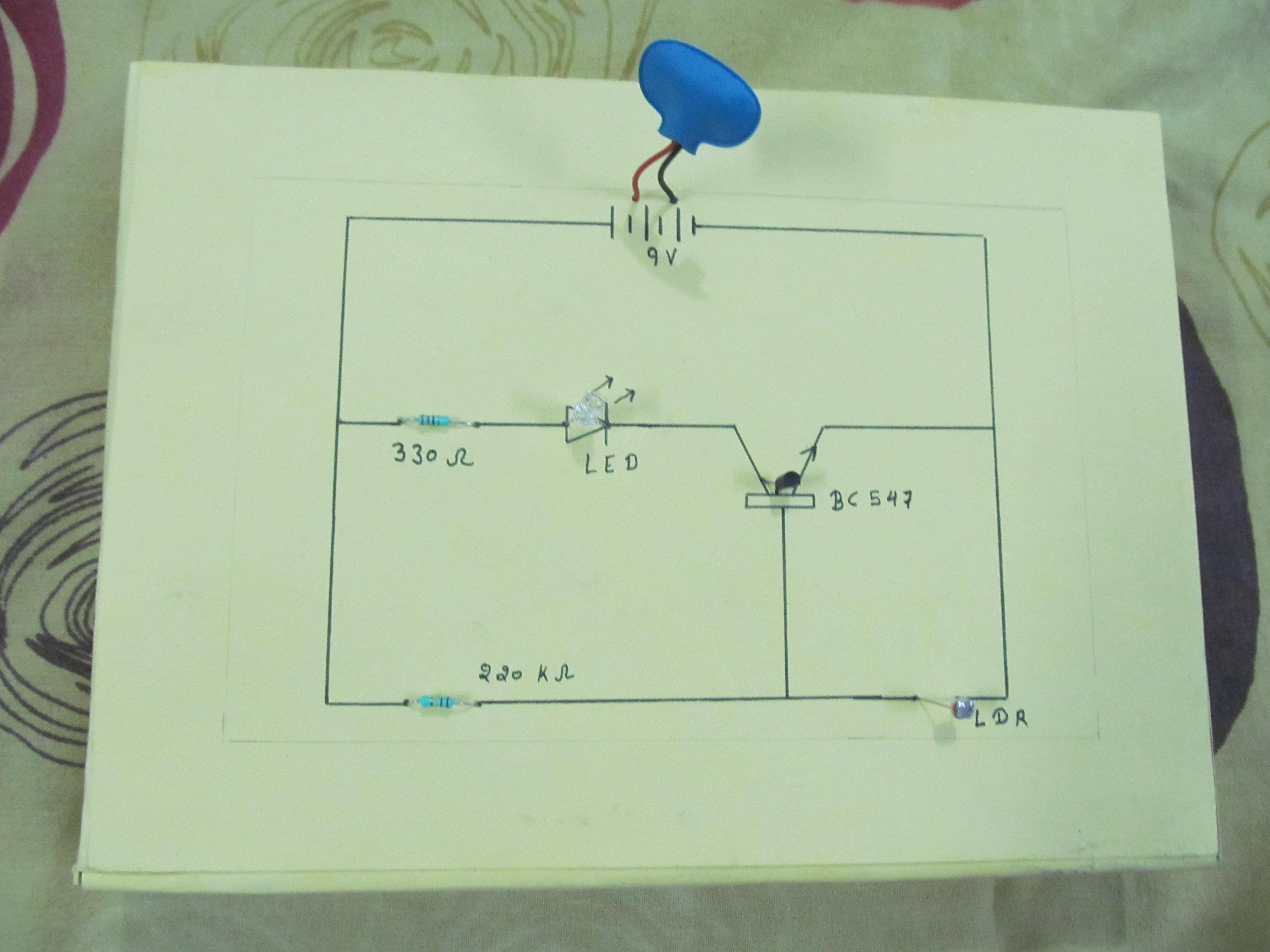Dark Sensor ( Light Sensor / Automatic Street Light ): 4 Steps