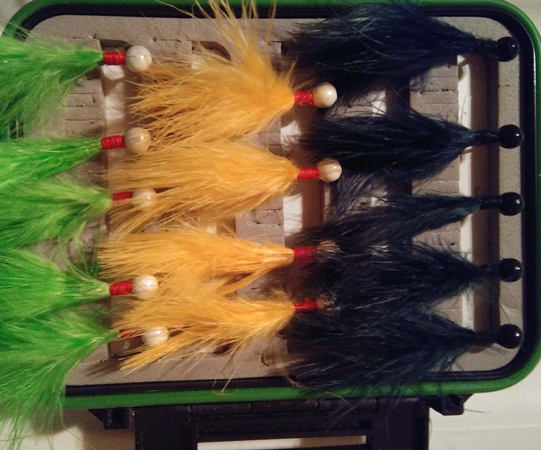 Image result for marabou jigs pics