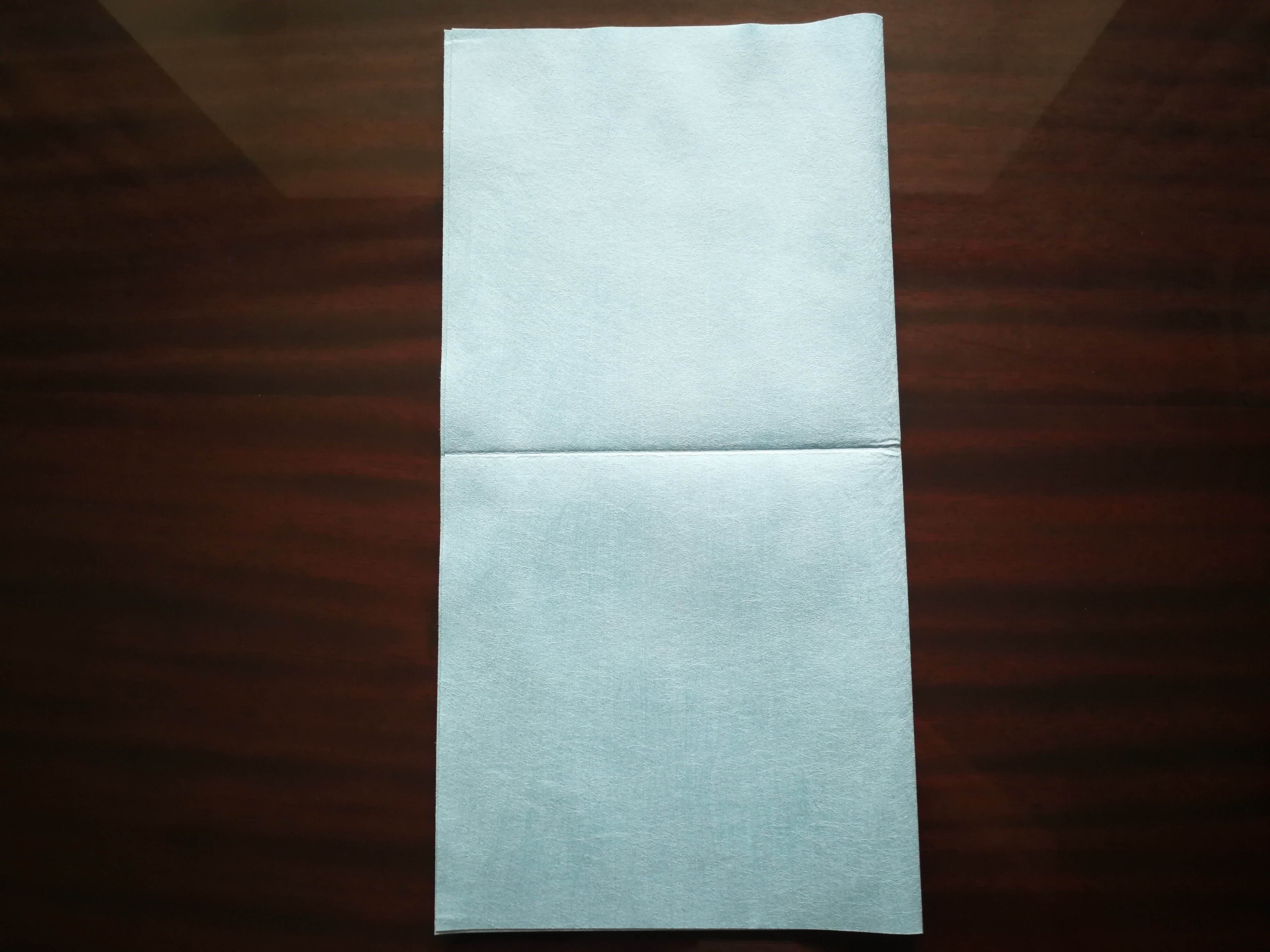 Picture of Cutting on the Cleaning Cloth