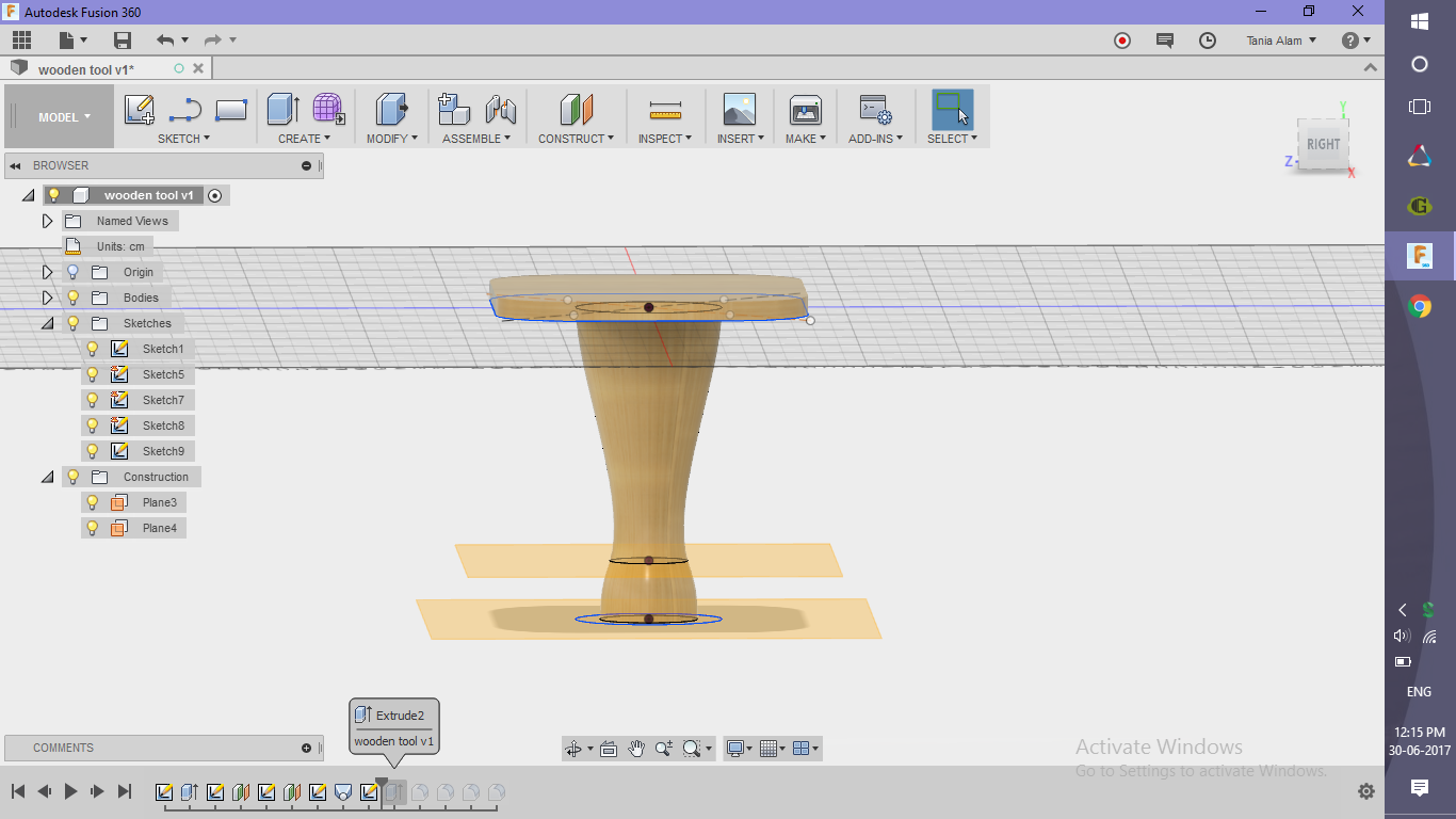 Picture of Make the Table Stand
