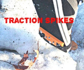 Winter Proof any Shoe - using DIY Traction Spikes