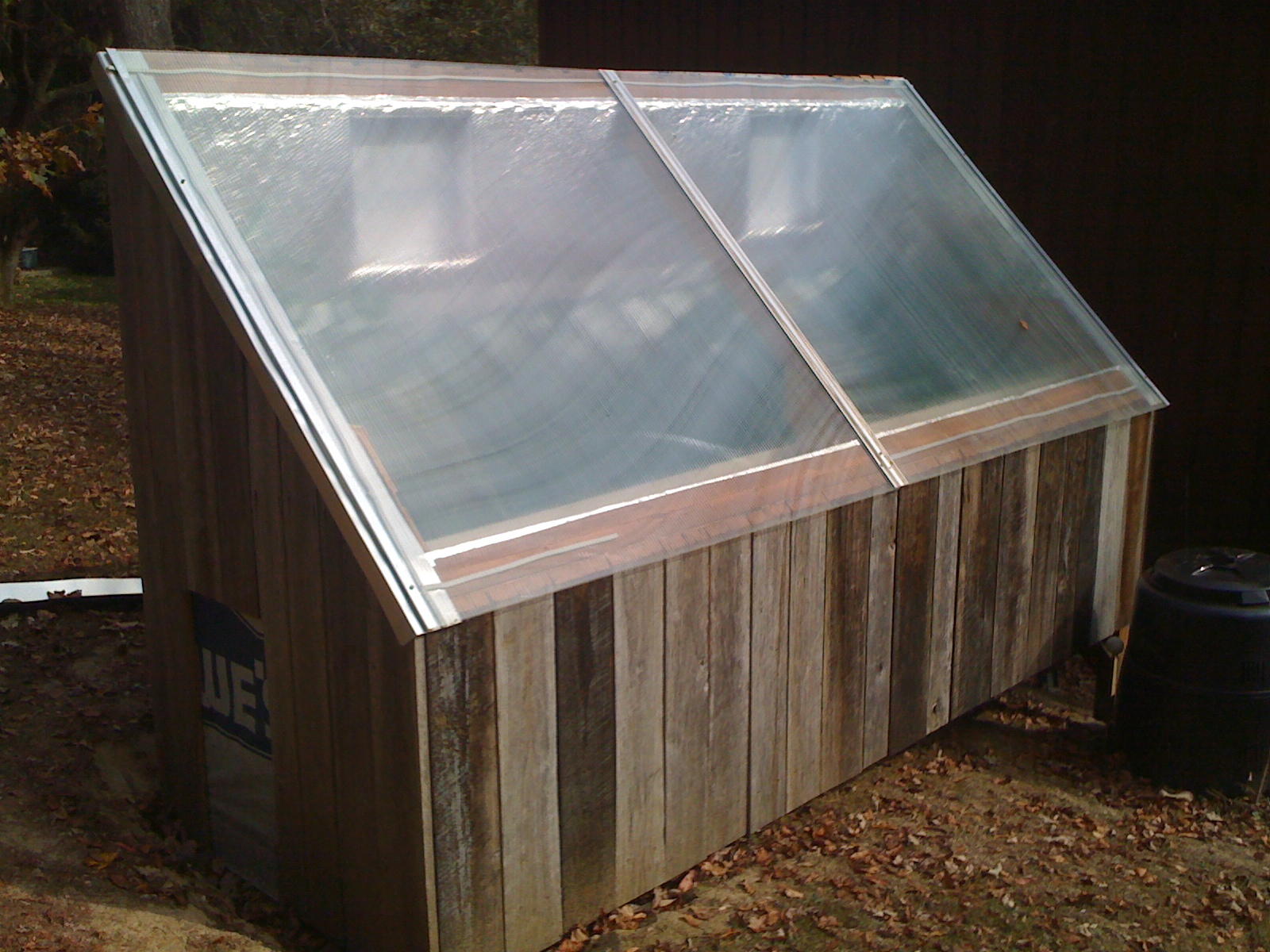 Picture of Installing the Greenhouse Roof