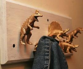 Dinosaur Coat hooks