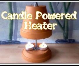 DIY- Candle Flower Pot Heater
