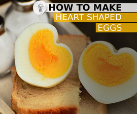 Heart-shaped egg