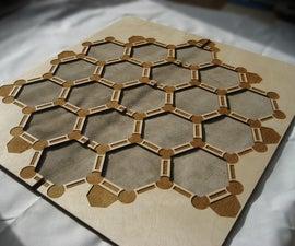 Custom Catan Frame and Tiles