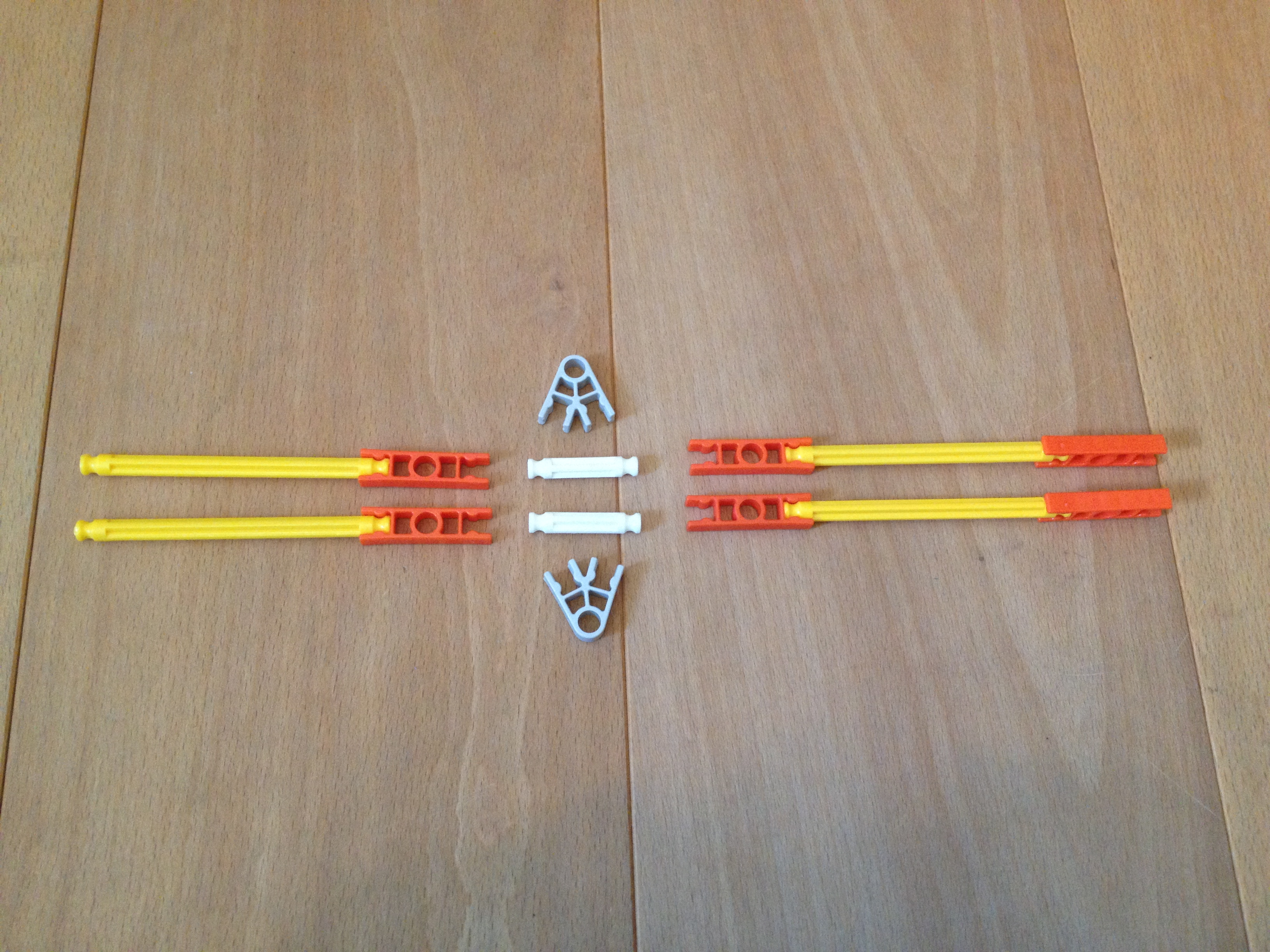 Picture of Assemble the Tension Rods