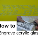 Engrave Acrylic Glass(simple Way)