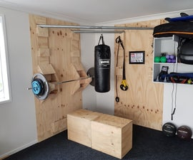 Functional Corner Home Gym