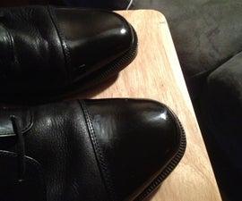 Spit Shine Shoes Like A Gentleman