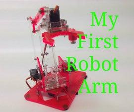 Kids Build - My First Robot Arm