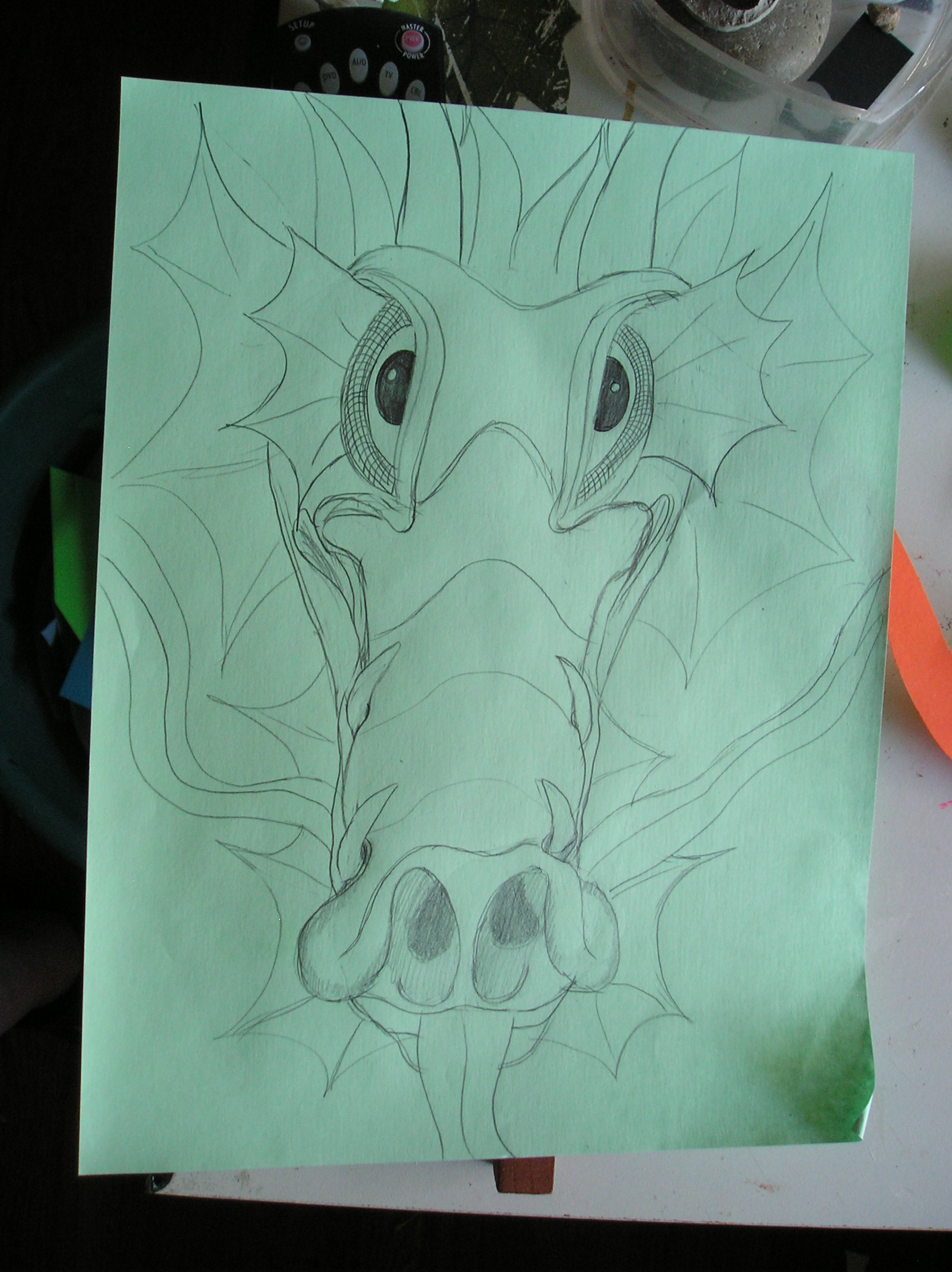 Picture of First, Sketch the Beast!