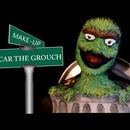 Oscar the Grouch From Sesame Street Makeup