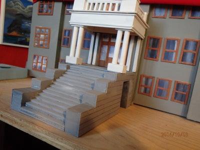 Chimney, Flagpoles, Columns, Etc