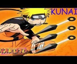 How to Make A Realistic (Paper) Naruto Kunai!