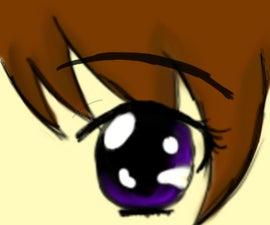 Basic Anime Eyes Tutorial Using Photoshop