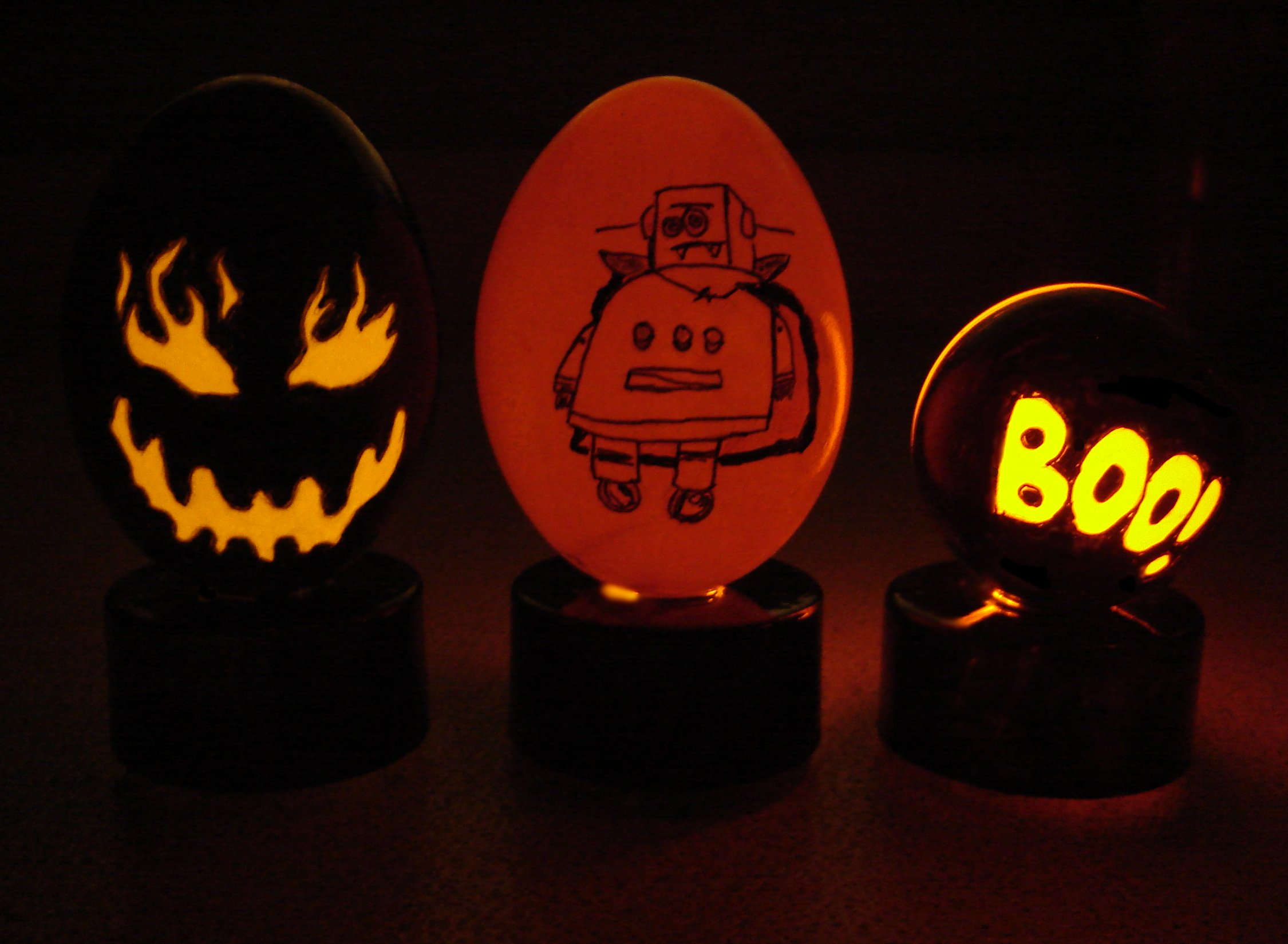 Picture of Spooky Halloween Eggs