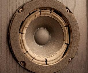 Re-foam Your Old Speakers