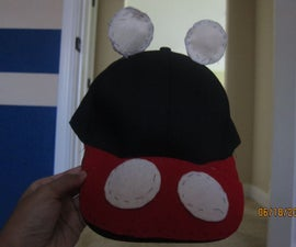 Cheap n' cute Mickey Mouse hat