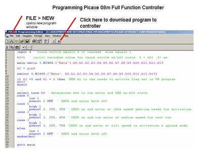 Programming the Full Function Controller
