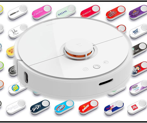 XiaoMi Vacuum + Amazon Button = Dash Cleaning: 5 Steps (with