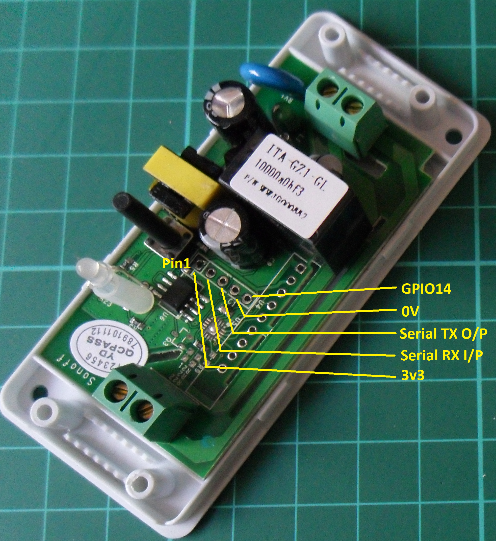 Picture of Sonoff Programming Adapter