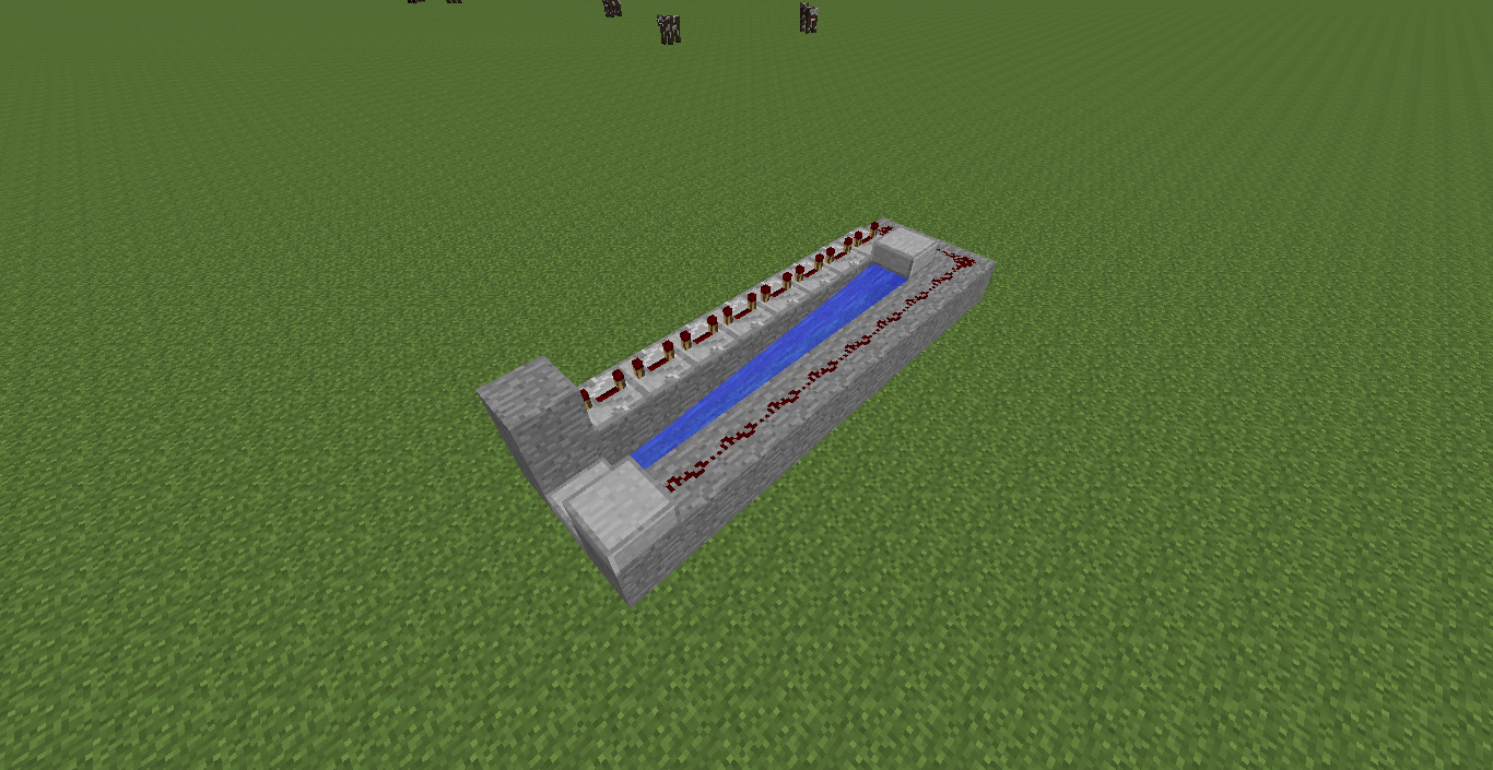 Picture of A Simple and Effective Minecraft Cannon