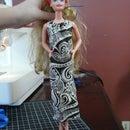 Fashion Doll Halter Dress