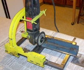 Cut Off Saw from an Angle Head Grinder