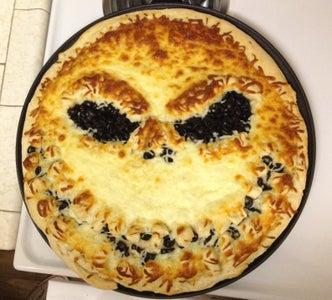 Jack Skellington Pizza