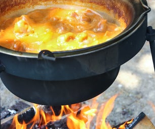 Campfire Stew - Outdoor Cooking