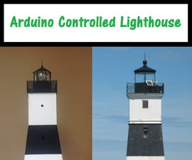 Arduino Controlled Lighthouse