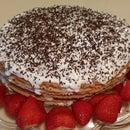 Layered honey-cake (ryzhik)