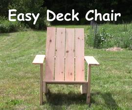 Easy Adirondack Chair