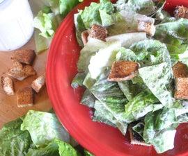 How to Make Vegan Caesar Salad