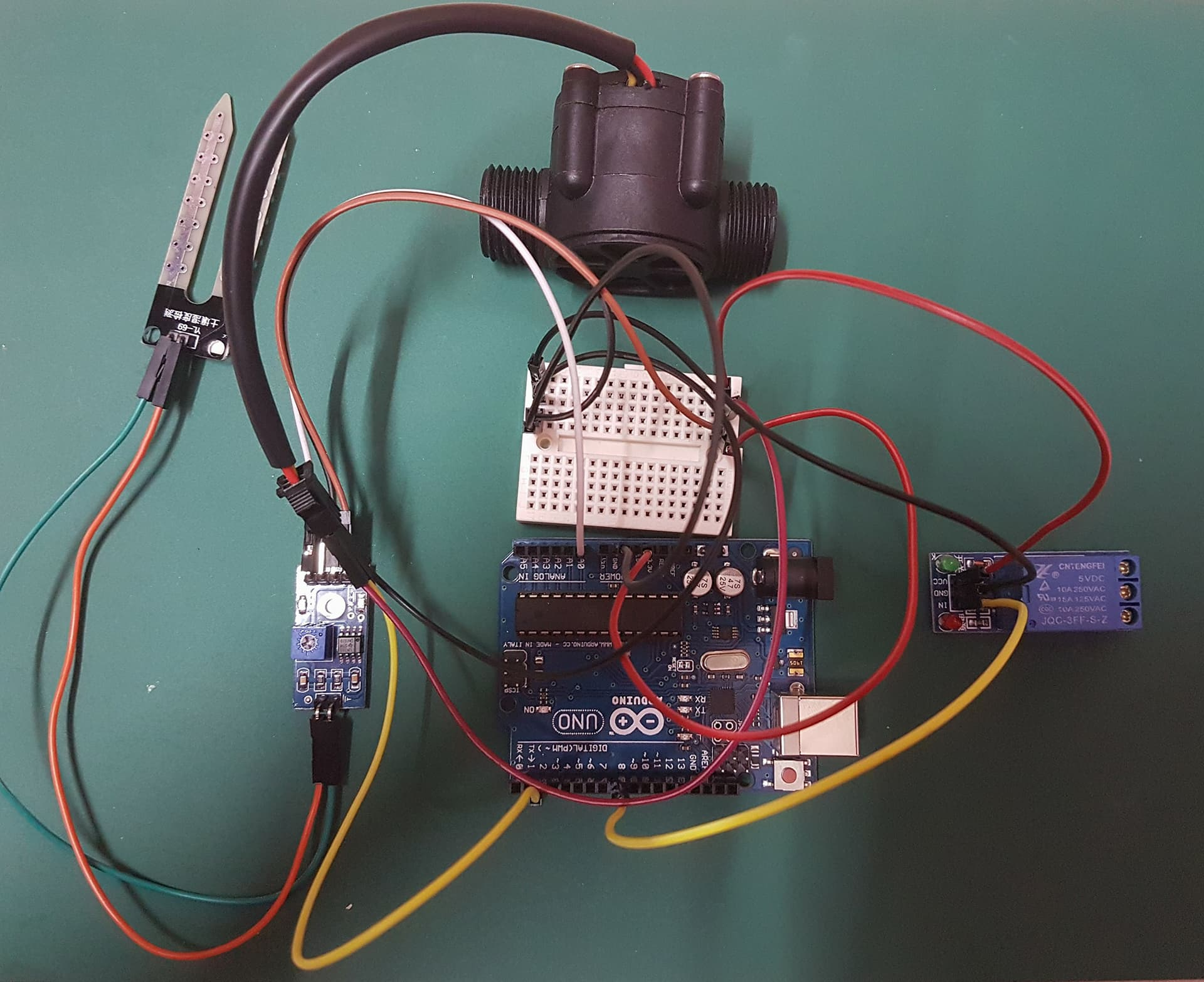 Picture of Connect the Relay to Arduino UNO